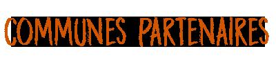 Communes partenaires