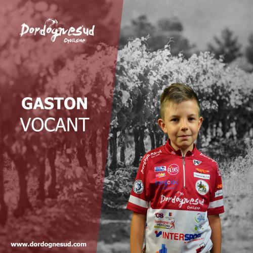 Gaston vocant