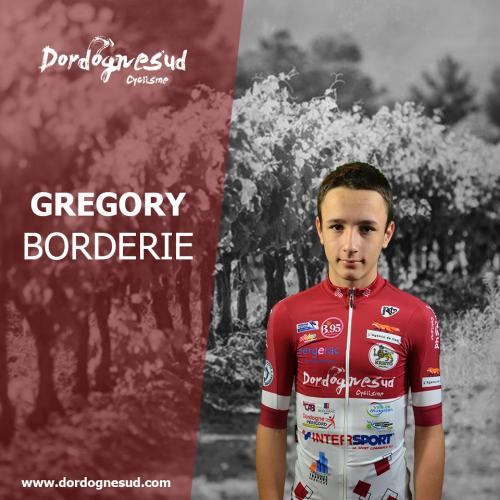 Gregory borderie